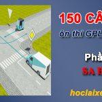 150 câu hỏi thi bằng lái xe máy a1 phần 3 sa hình